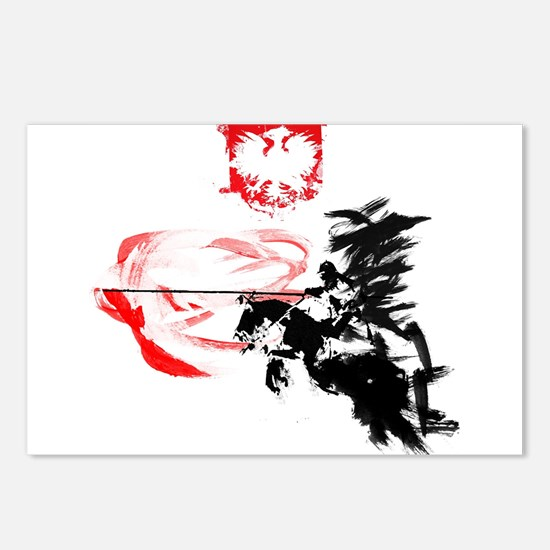 Polish Hussar Postcards (Package of 8)