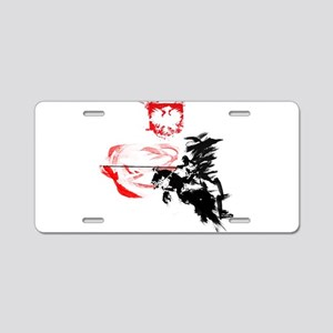 Polish Hussar Aluminum License Plate