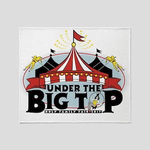 Big Top Logo Throw Blanket