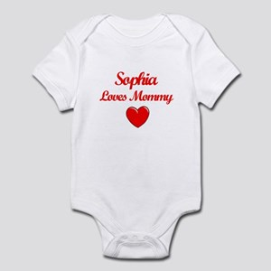 Sophia Loves Mommy Infant Bodysuit