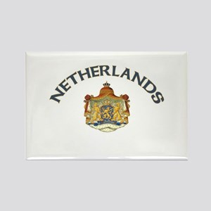 Netherlands Coat of Arms Rectangle Magnet