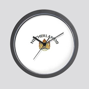 Netherlands Coat of Arms Wall Clock