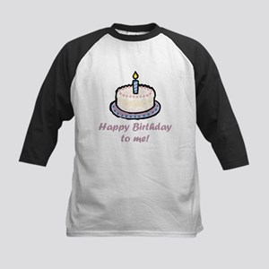 Happy Birthday to Me (2) Kids Baseball Jersey
