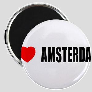 I Love Amsterdam, Netherlands Magnet