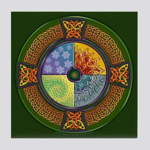 Celtic Elements Decorative Tile