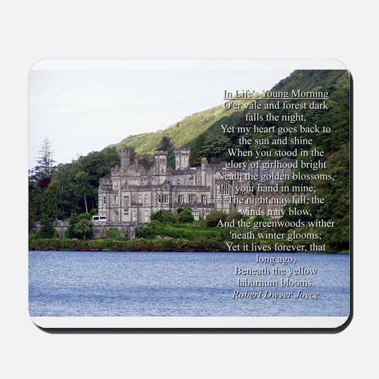 In Lifes Young Morning Verse 3 Mousepad