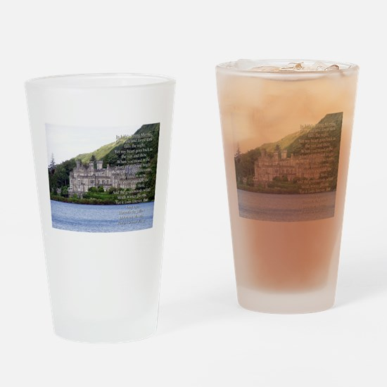 In Lifes Young Morning Verse 3 Drinking Glass