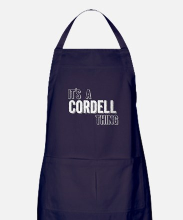 Its A Cordell Thing Apron (dark)