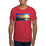 Sunset Over Siesta Beach Dark T-Shirt