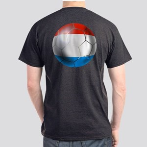 Luxembourg Football Dark T-Shirt