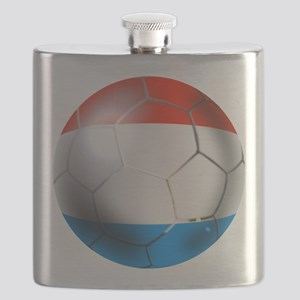 Luxembourg Football Flask