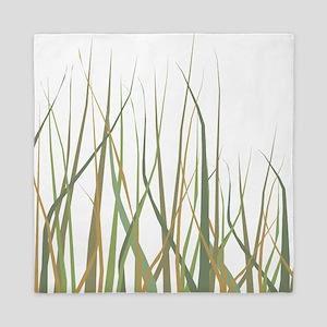 Tall Summer Grasses Queen Duvet