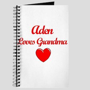 Aden Loves Grandma Journal