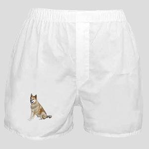 Akita (ltRed) Boxer Shorts