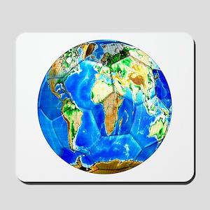 World Soccer Ball Mousepad