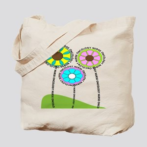 ONCOLOGY NURSE FLOWERS 2 Tote Bag