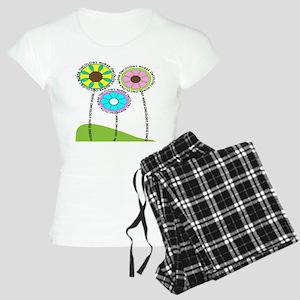 ONCOLOGY NURSE FLOWERS 2 Pajamas