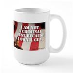 Gun Ownership Large Mug Mugs