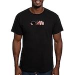 Gun Ownership Men's Fitted T-Shirt (dark)