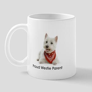 Proud Westie Parent Mugs