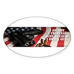 Gun Ownership Oval Sticker