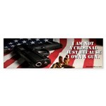 Gun Ownership Sticker (Bumper 50 pk)