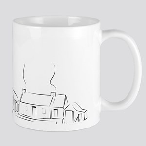 A Country Farm Mug
