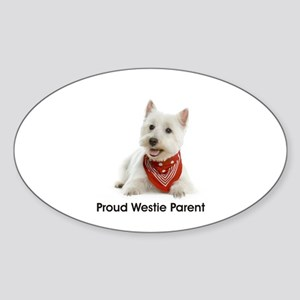 Proud Westie Parent Sticker