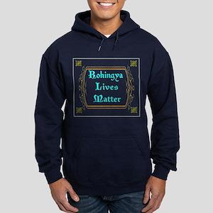 Rohingya Lives Matter Hoodie (dark) Sweatshirt