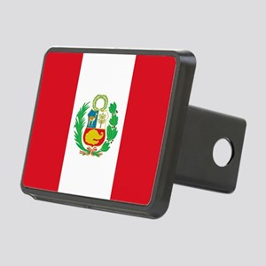 Flag of Peru Hitch Cover
