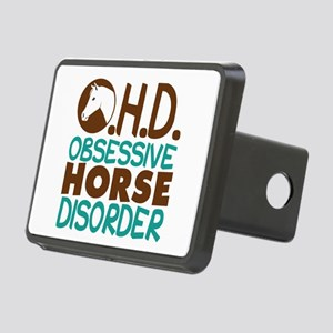 Funny Horse Rectangular Hitch Cover