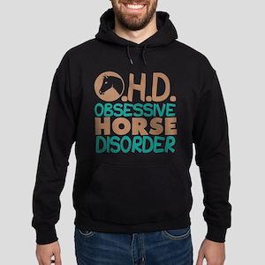 Funny Horse Hoodie (dark)