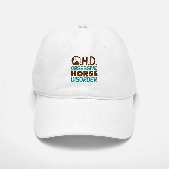Funny Horse Baseball Baseball Cap