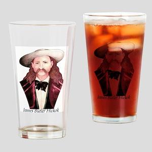 Wild Bill Kickok Drinking Glass