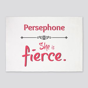 Persephone is fierce 5'x7'Area Rug