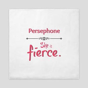 Persephone is fierce Queen Duvet