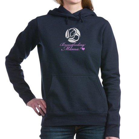 Breastfeeding Mama Women's Hooded Sweatshirt