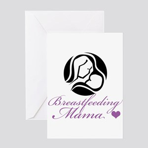 Breastfeeding Mama Greeting Card