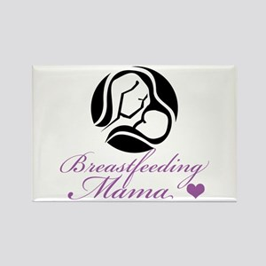 Breastfeeding Mama Rectangle Magnet