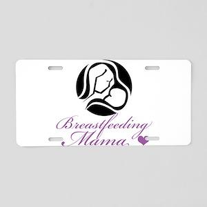 Breastfeeding Mama Aluminum License Plate