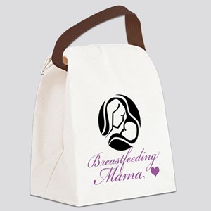 Breastfeeding Mama Canvas Lunch Bag