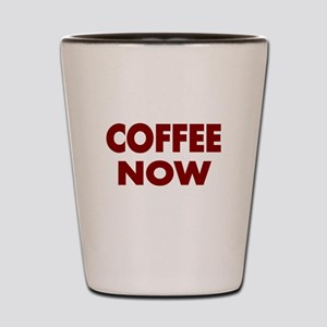 COFFEE NOW 3 Shot Glass
