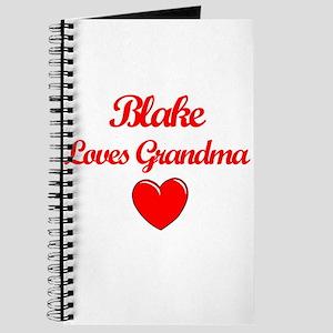 Blake Loves Grandma Journal