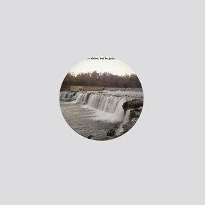 The Grand Falls of Joplin, Missouri Mini Button