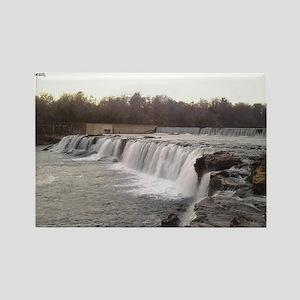 The Grand Falls of Joplin, Missou Rectangle Magnet