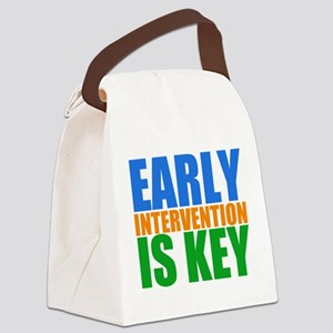 Early Intervention Canvas Lunch Bag