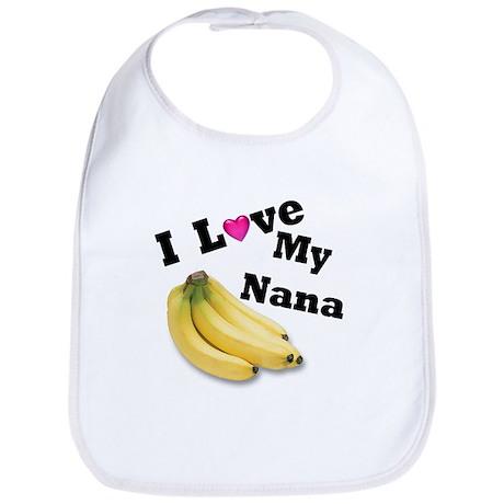 I Love Nana!! Bib