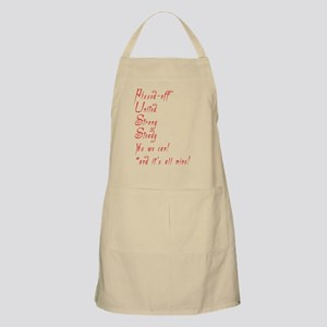 pissedoffmadred2 copy Apron