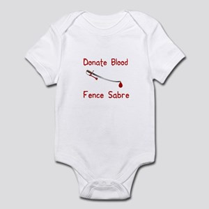 Donate Blood Infant Bodysuit