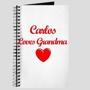 Carlos Loves Grandma Journal